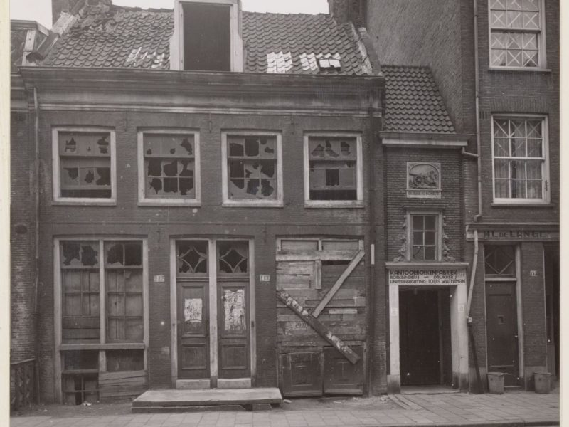 Rapenburgerstaat 153 anno 1940