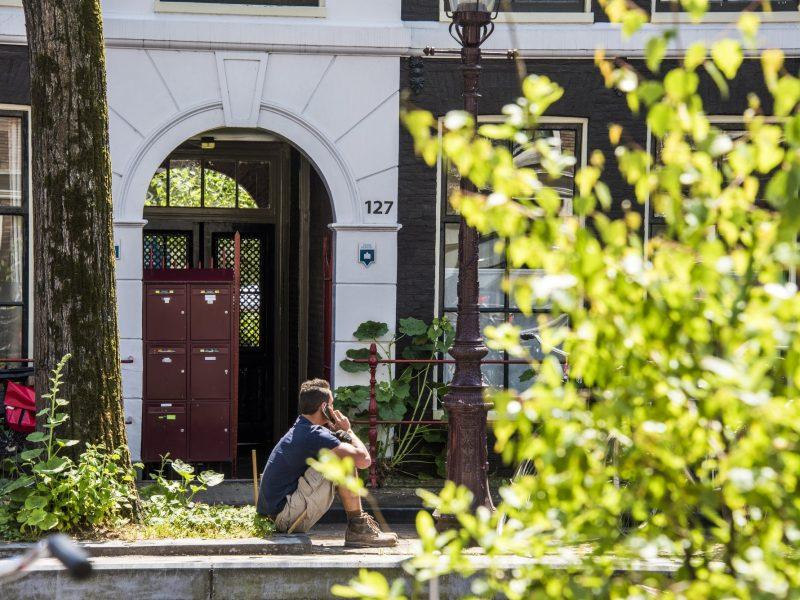 Stadsherstel - Bloemgracht 127, Amsterdam. Foto
