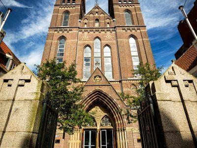 Posthoornkerk - buiten gevel