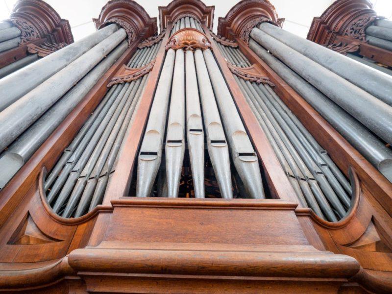 Orgel in De Duif Amsterdam.