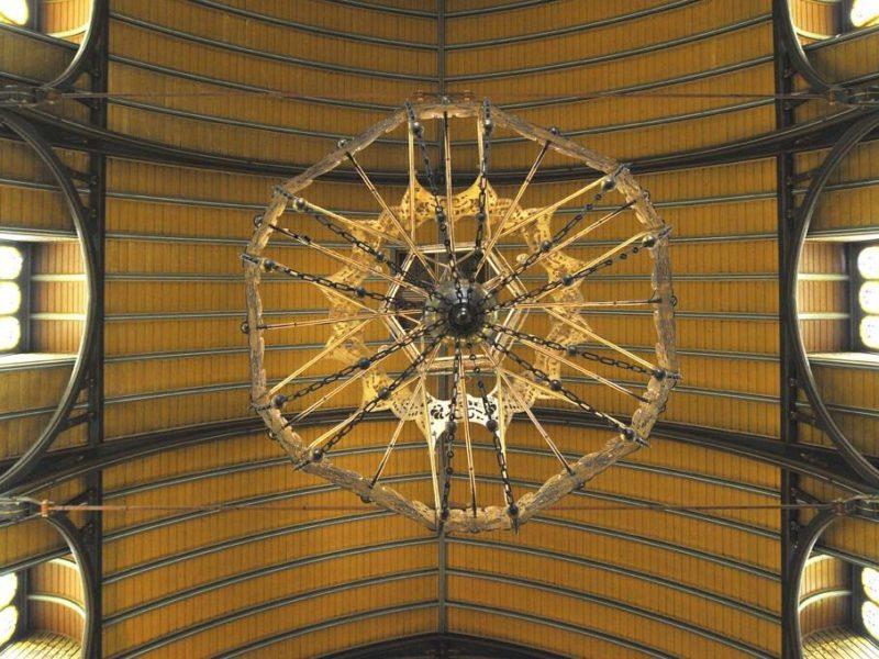 3 Ernest Annyas 831 Van Houtenkerk Interieur Detail Kroonluchter 1