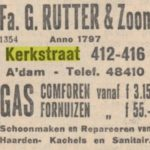 Kerkstraat 414 Amsterdam advertentie gas comforen fornuizen