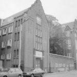 Quarantainegebouw met binnenplaats (foto Stadsarchief Amsterdam, 1990)