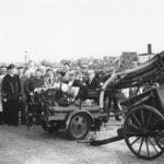 Vrijwillige brandweer sloten- 1955- hand en motor brandspuit.