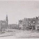 Sloop panden Amsterdamse binnenstad - foto collectie Dreesman Amsterdam Archief