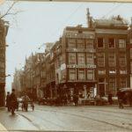 A Hoek Keizersgracht Vijzelstraat Voor Afbraak