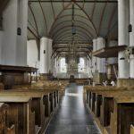 Interieur van de kerk.