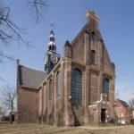 Exterieur van de kerk.