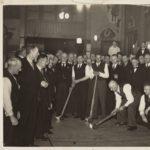 Kolven in De Waakzaamheid (foto Zaans Archief, 1925)
