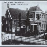 De Waakzaamheid (foto Zaans Archief, 1920)