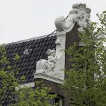 Klauwstukken in de halsgevel (foto Stadsherstel, Sjors van Dam, 2019)