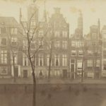 De te slopen panden (foto Stadsarchief Amsterdam, 1870)