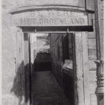 Ingang Werf Het Groenland (foto Stadsarchief Amsterdam)