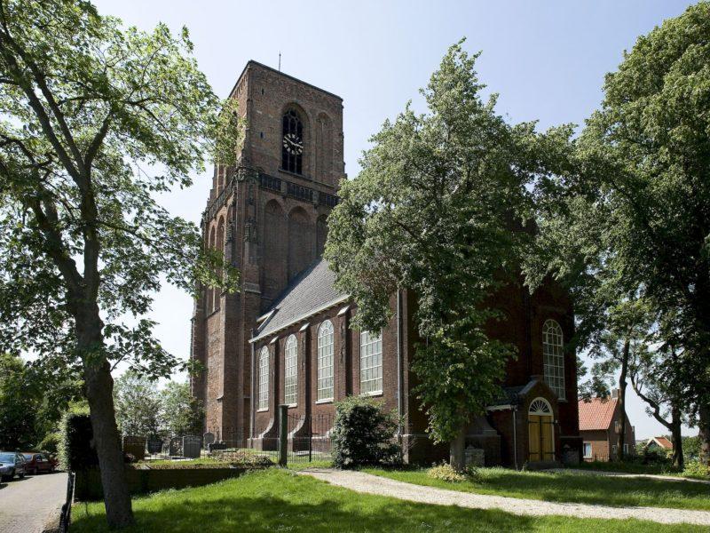 Nederland, Ransdorp, 30 mei 2007kerk met stompe torenStadsherstelFoto: Thomas Schlijper - Copyright Thomas Schlijper