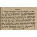 De Tijd Godsdienstig-Staatkundig Dagblad 20-12-1922.