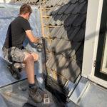 Afrondende werkzaamheden aan het dak (2021)