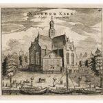 Prent van de Noorderkerk anno 1665.