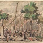 De Appelmarkt werd vlakbij ons pand gehouden 1690-1700. Pieter van den Berge (1659-1737)
