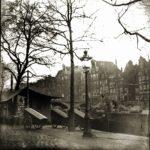De appelmarkt met aan de overkant ons pand (1885-1895). Collectie G.H. Breitner