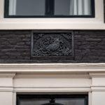 De gevelsteen - Foto: Jan Reinier van der Vliet