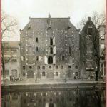 Brouwersgracht 174-178, pakhuizen van Blaauwhoedenveem-Briesseveem. (1915).