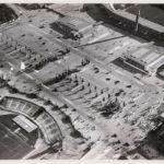Boven het nieuwe stadion en onder het oude van Elte (1913-1930).