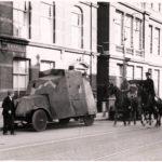 Jordaanoproer, gepantserde auto, 1934.