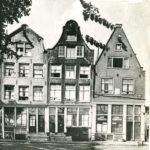 Rijtje huizen gebouwd door Reinier Reael.