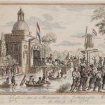 Vertrek en terugkomst der Amsterdamsche mobiele schutterij 5 sept 1834