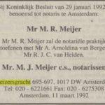 NRC Handelsblad, 11-3-1992