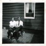 Dhr. en mevr. Nijman verloofd. (1958)