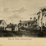 Suikerplantage Rust En Werk, Paramaribo Circa 1895