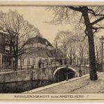 Gewijzigde winkelpui 1898-1907 Wenckebach, L.W.R. (Willem, 1860-1937).