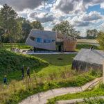 Fort Diemerdam met paviljoen, geschutsbedding en munitiebunker, foto Emma Architecten