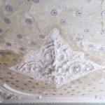 Restauratie van het plafond bel etage