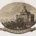 De aankomst van Lodewijk Napoleon in Amsterdam op 20 april 1808.