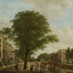 De groene stad, gezicht op de Herengracht bij de Leidsestraat. Hendrik Keun (1774). Rijksmuseum Amsterdam.