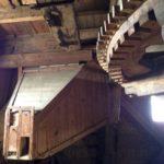 Maalmechanisme in de molen.