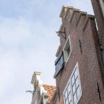 De trapgevel van de Sint Annenstraat 10. Foto: Sjors van Dam (2021).
