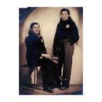 Dochters Mirjam en Betty Klein.