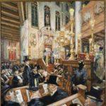 In de Portugese synagoge, Martin Moninickendam.