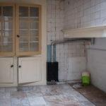 Keuken achterhuis voor restauratie