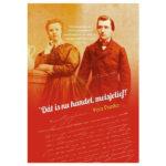 Een boek met verlovingsbrieven van de amsterdamse boekhandelaar en uitgever George Lodewijk Funke.