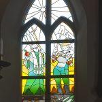 Glas-in-loodraam Gerrie Hondius Bakenesserkerk