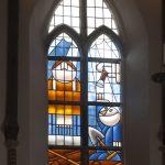 Glas-in-loodraam Hans Klaver Bakenesserkerk