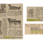 V.l.n.r. Nieuws van den Dag 4-6-1910 / Haagse courant 31-5-1919 / De Nieuwe Dag 24-8-194)