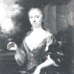 Constantia Jacoba Hop, vrouw van Ortt, door Quinkhard (1729)