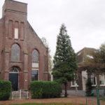 Kerk en pastorie te Etersheim.