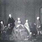 Familie Van der Muelen in hun woning aan de Keizersgracht, door Tibaut Regters.
