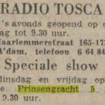 Krantenartikel de Waarheid, Radio Tosca